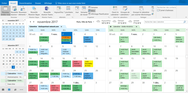 calendrier-contact-collaboration-messagerie-exchange-entreprise