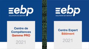 Logos EBP certification 2021