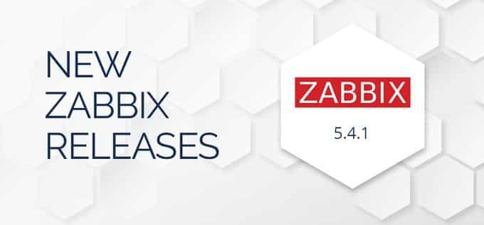 Zabbix 5.4.1